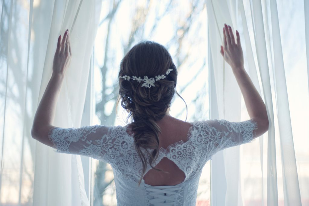 professional bride hair styling Milwaukee WI